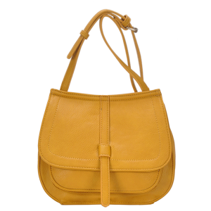 MMS BGA 82617 fashion crossbody mustard