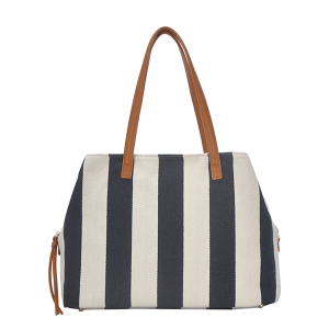 MMS BGS 4313 overnight weekend bag stripe navy