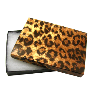 display gift box BX2853 5.25inch 100pc leopard