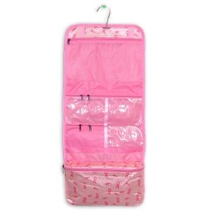 luggage AK CB25 130 hanging cosmetic case ribbon pink