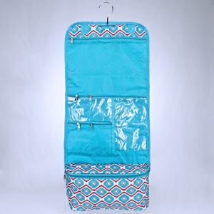 luggage AK CB25 18 hanging cosmetic case geometric turquoise