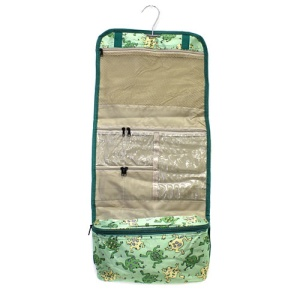luggage AK CB25 94 hanging cosmetic case frogs green