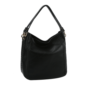 Handbag Republic CTD0018 shoulder bag western braid black