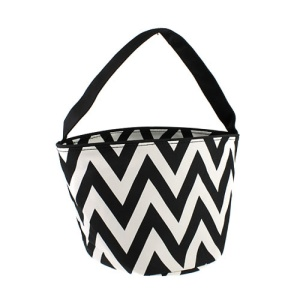 Luggage 1010 basket bag chevron black