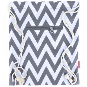luggage 1014 sling bag chevron gray