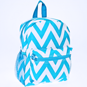 luggage 6012 youth backpack chevron turquoise