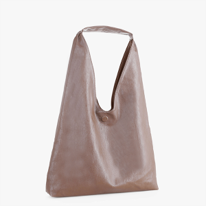 Isabelle DB19622 reversible hobo taupe dark brown