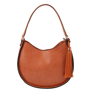 Handbag Republic DX0089 shoulder hobo python snake orange