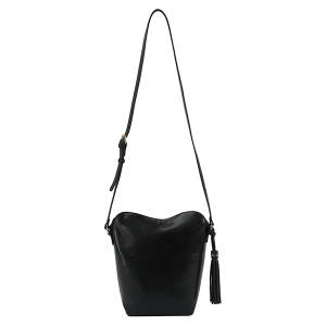 Handbag Republic DX0090 tassel crossbody black