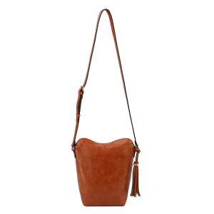Handbag Republic DX0090 tassel crossbody brown