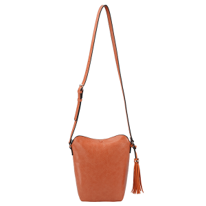 Handbag Republic DX0090 tassel crossbody orange