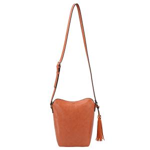 Handbag Republic DX0090 tassel crossbody orange