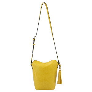 Handbag Republic DX0090 tassel crossbody yellow