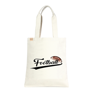 LOF ECO-229 shopping tote football beige