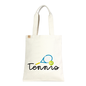 LOF ECO-231 shopping tote tennis blue beige