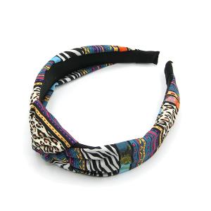 Headband 171a 24 assorted animal print multi