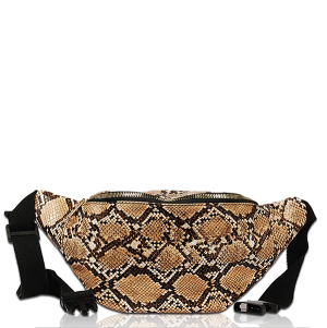 Vieta FP1756 fanny bag animal snakeskin brown