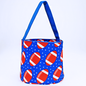 luggage 1010 basket bag football royal blue