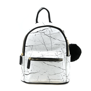 Like Dreams H922189 mini backpack marble white