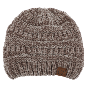 Winter CC Beanie 023c 82 soft chenille taupe