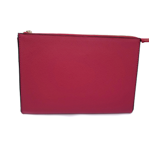 Tres Jolie HB9028 clutch leatherette red pink