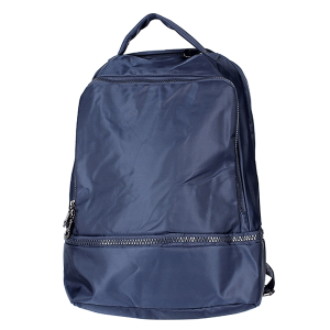 Nima HBG102935 nylon multi pocket backpack blue