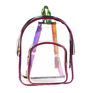 Nima HBG102974 transparent multi color backpack