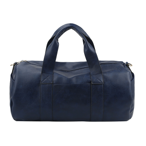 Handbag Republic HG-0099 vegan leather weekend duffel navy blue