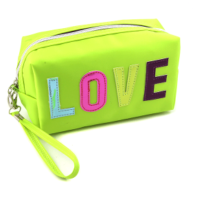 Nima HM00471 cosmetic pouch LOVE lime