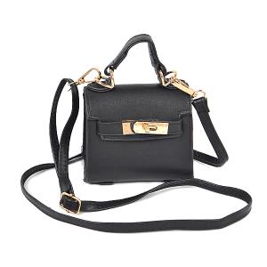 3AM HMC1098 single handle crossbody mini bag black