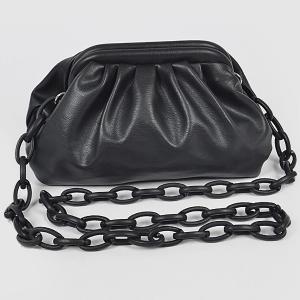 3AM HPC3454 plastic link chain clutch black