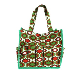 luggage ak HY009913 organizer bag bulb green red green trim