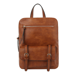 Handbag Republic JNM-0058 modern convertible backpack brown