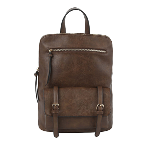 Handbag Republic JNM-0058 modern convertible backpack coffee