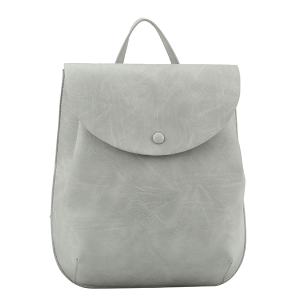 Handbag Republic L-0230 convertible fashion backpack light gray