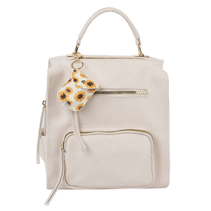 Handbag Republic LM-0279 fashion backpack beige
