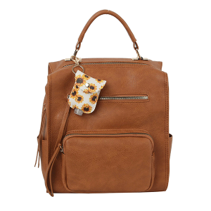 Handbag Republic LM-0279 fashion backpack brown