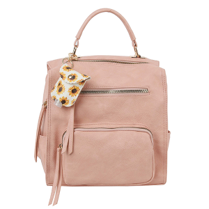 Handbag Republic LM-0279 fashion backpack blush
