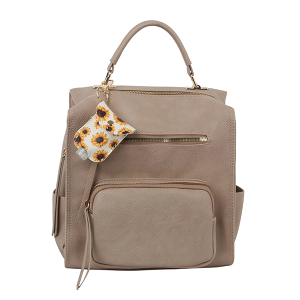 Handbag Republic LM-0279 fashion backpack taupe