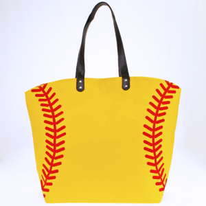 LOF LOA 062 large softball tote yellow