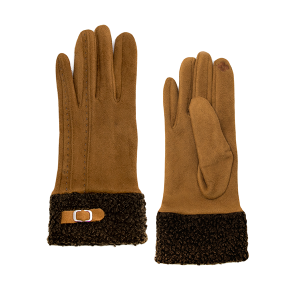 Gloves 034 LOF Touch Screen Sherpa brown
