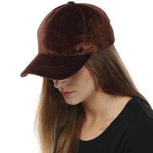 Cap 016o 04 LOF Solid Soft baseball cap brown