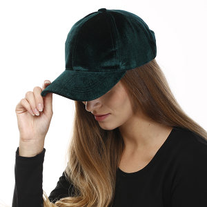 Cap 049i 04 LOF Solid Soft baseball cap hunter green