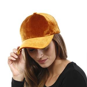 Cap 029n 04 LOF Solid Soft baseball cap mustard
