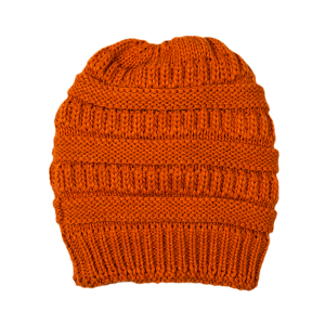 Winter Cap 154 LOF Knit Beanie Fleece orange