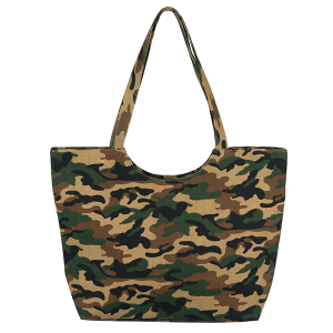 TPO MB0130 camouflage print tote
