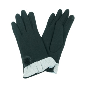Winter Gloves 004 Touch Screen black gray