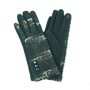 Winter Gloves 050 Touch Screen black gold