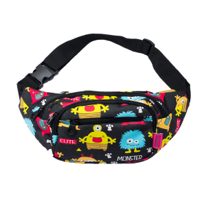 luggage 1004 waist pack monster black