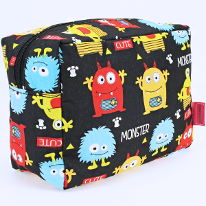 luggage 1009 toiletry bag monster black